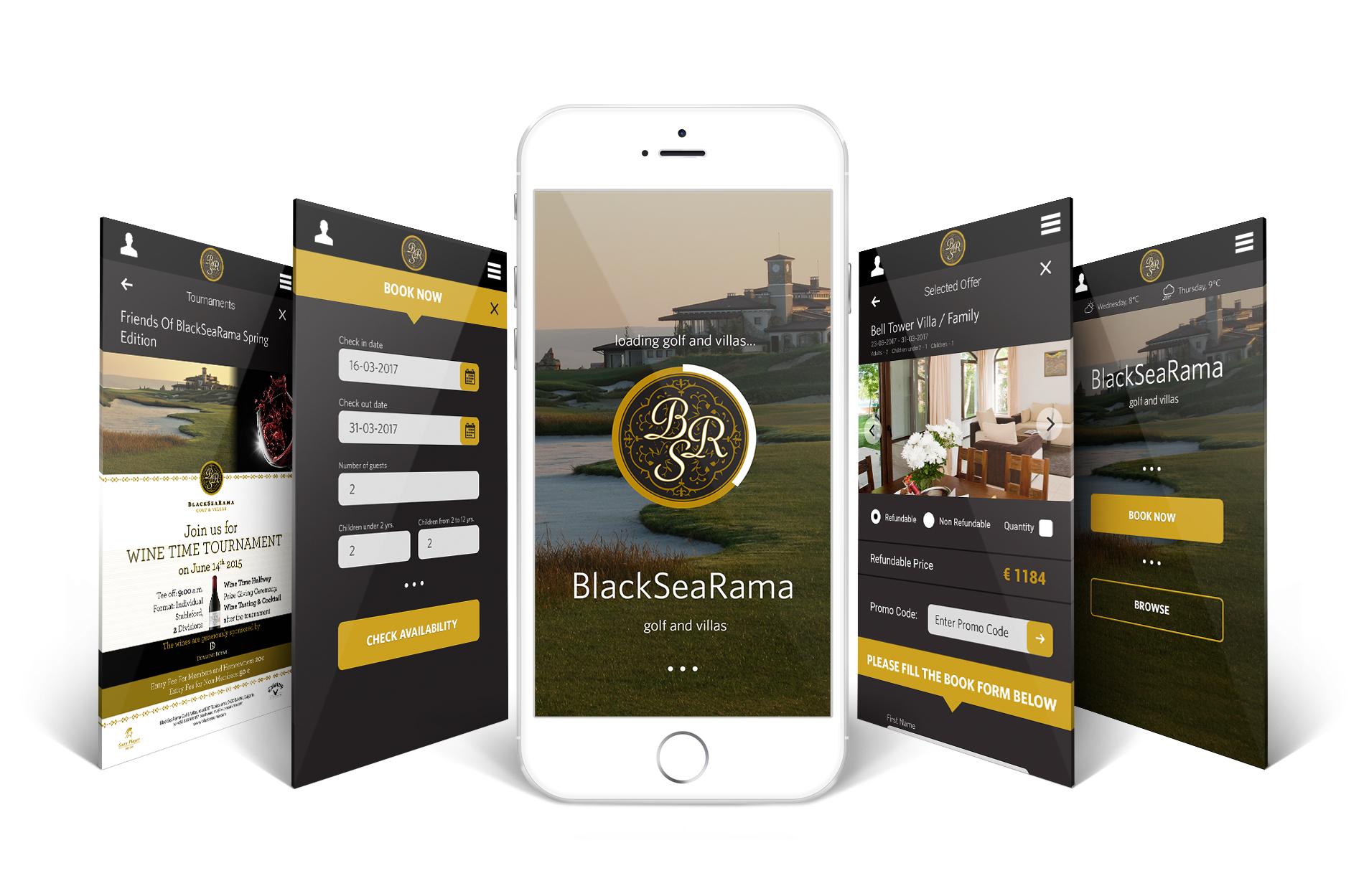 Black Sea Rama application